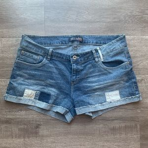 Levi's Patchwork Denim Shorts